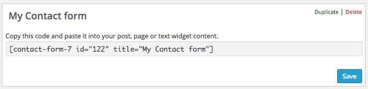 contact-form-7-shortcode